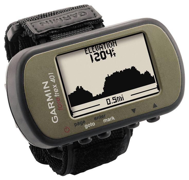 Garmin Foretrex 401 Waterproof Hiking GPS System w Electronic Compass Altimeter