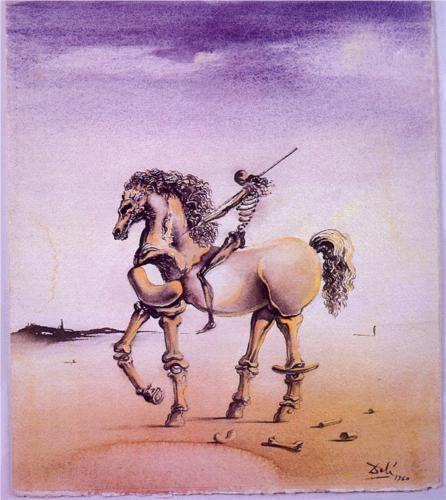 Salvador Dali (1904 - 1989) | Surrealism | Cavallo Metafisco
