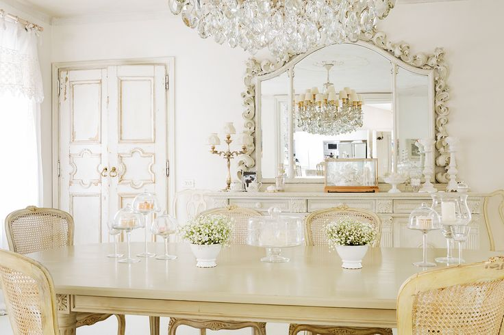 17 best images about my shabby chic on pinterest villas romantic and the raven - Specchi shabby ikea ...