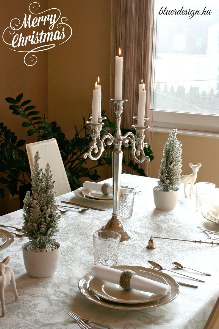 Snowy white-silver christmas table setting DIY http://bluerdesign.hu/blog/wp-content/uploads/2013/12/IMG_2024.jpg