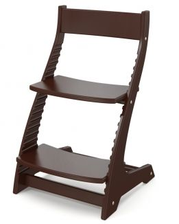 Растущий стул Каметта темный орех Andiolly