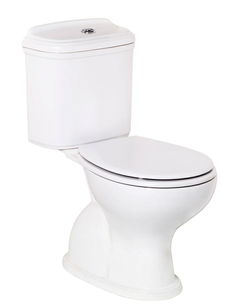 Posh Canterbury Close Coupled Toilet Suite With Carla Seat