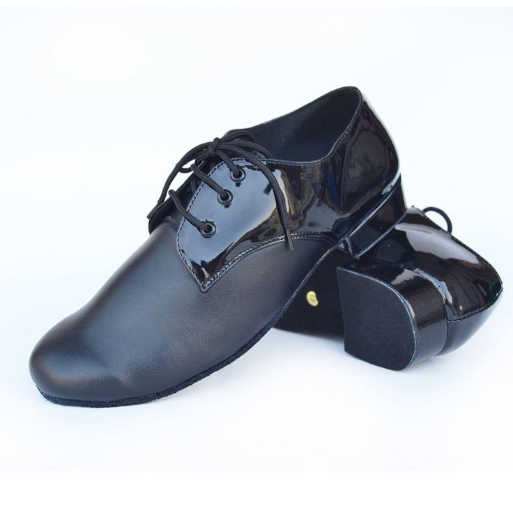 62.80$  Watch here - http://ali9lf.worldwells.pw/go.php?t=32729472507 - Verzending mannelijke Latin dansschoenen stijldansen schoenen vierkante dansschoenen zwarte koeienhuid dansschoenen