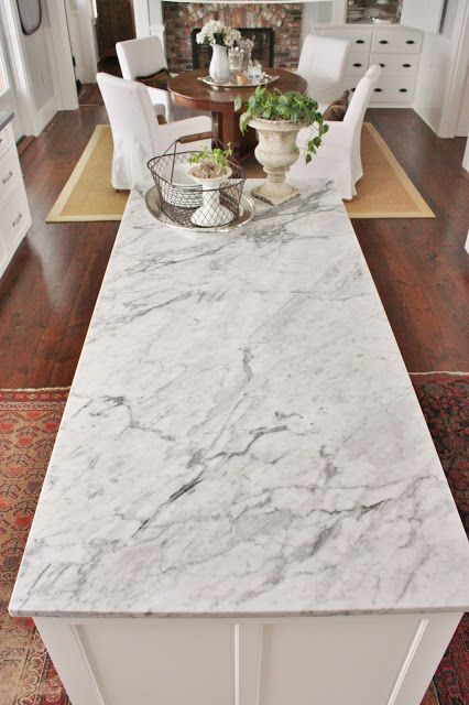 Marble...to install or not to install, via: for the love of a house blog