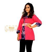 Batik Trusmi Blus Kantor Batik Cirebon Colet Obnaesel IDR.275.000  *bahan: Doby Colet *size: M, L & XL *pilihan warna: Pink ----------------------------------------------------------------------------- Info Order, hubungi Team Marketing Online kami [Open Reseller & Dropship] --> Phone/SMS/Whatsapp/Line : Dian : 081564690003 | PIN BB: 57FA23DC Linda: 085864040786 | PIN BB: 57E93563 Gina : 089665271943 | PIN BB: 79FCA1A9 Viny : 085724290097 | PIN BB: 56F40C1A