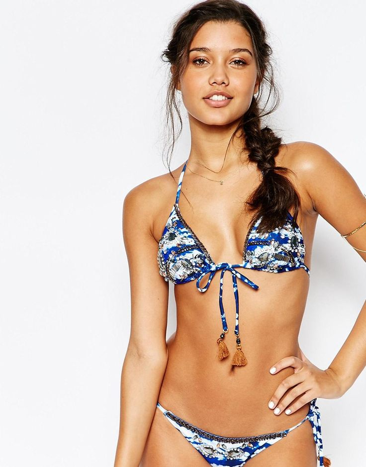 River+Island+Tie+Dye+Embellished+Soft+Triangle+Bikini+Top