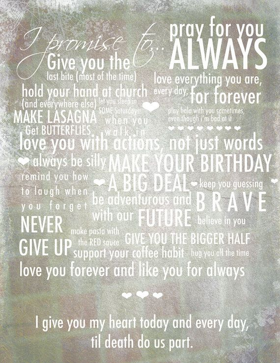 writing vows examples Composing your own wedding vows will always in style it's a fun, sweet,  romantic way to make your day extra special and memorable but you.