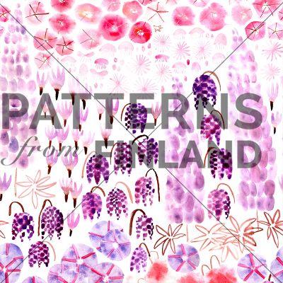 Seitsemän Kukkaa by Maria Tolvanen  #patternsfromfinland #mariatolvanen #pattern #surfacedesign #finnishdesign