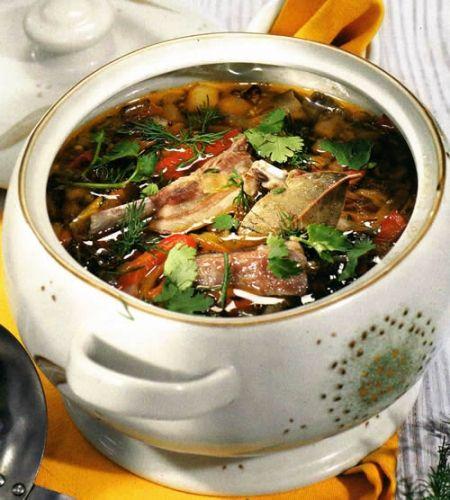 Лук порей на суп щи из свежей капусты