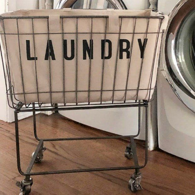 Rolling Cloth Laundry Bin Laundry Cart Rolling Laundry Basket