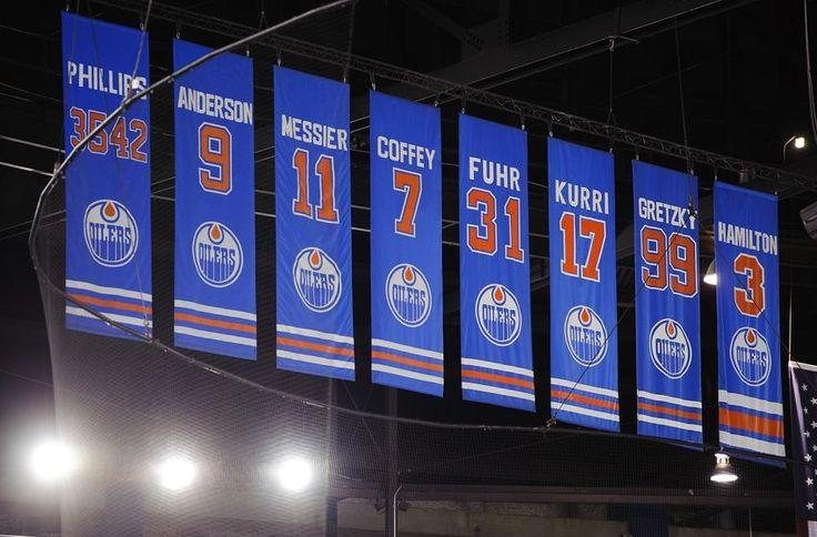 Edmonton Oilers retired numbers