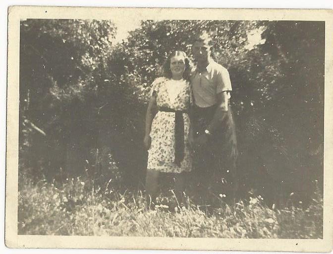 Babcia i Dziadek #1940 rok #Engelbert #Renk #search #grandfather #Zdzislawa #Kulis