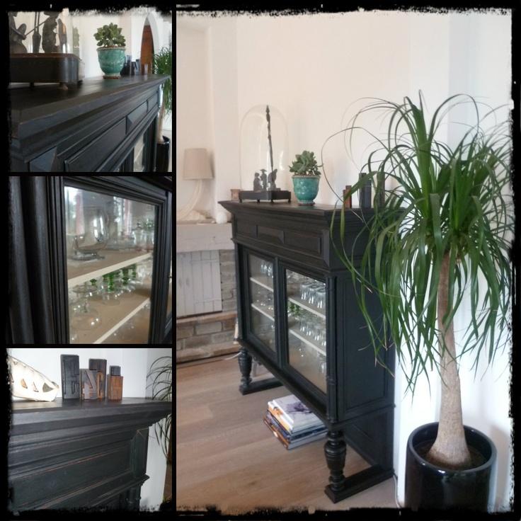 haut de buffet d tourn en vitrine salle a manger pinterest buffet. Black Bedroom Furniture Sets. Home Design Ideas