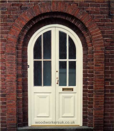 Arched doors are beautiful.