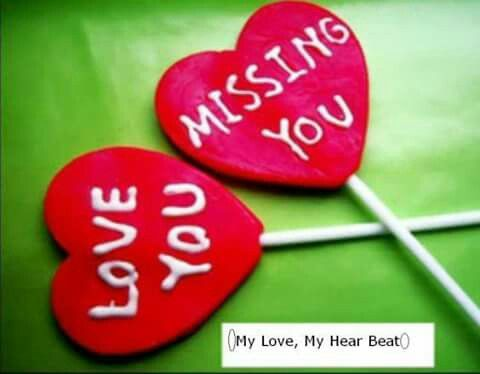 ALOT of both Miss you message, I miss you wallpaper