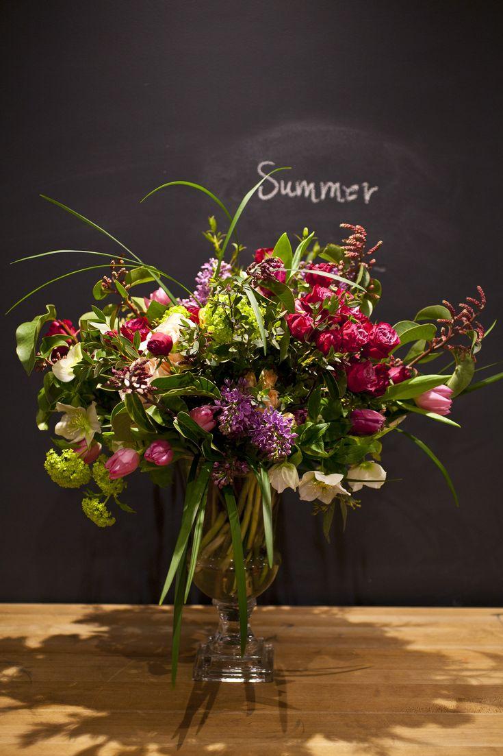 FlowerSchool New York | Christian Tortu:Spring Flowers-February 7, 2015
