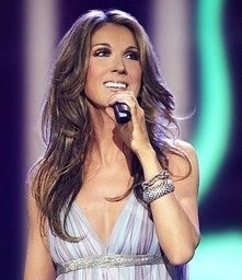 Celion Dion. My all time favorite singer!!