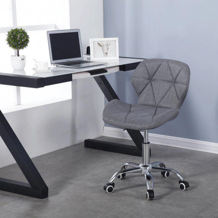 Office Star Deluxe Armless Wood Bankers Desk Chair With Wood Seat