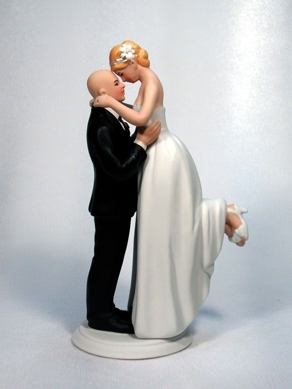 bald groom and bride wedding cake topper 10 best bald grooms wedding cake toppers images on 11050