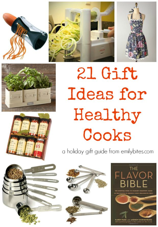 21 Gift Ideas For Healthy Cooks Emily Bites Weight Watchers Recipes Pinterest Gifts 21st And Holiday