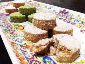 絹の口溶けクッキー*ポルボロン