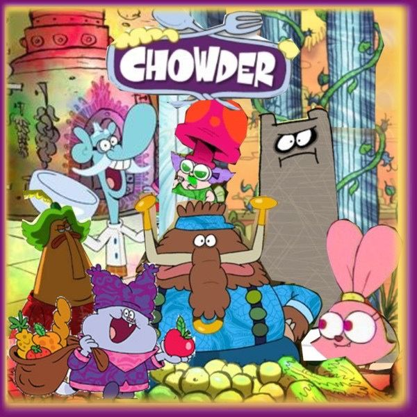 Pin By Natalie Medard The Leader Tom On Chowder 2007 In 2020 Chowder Cartoon Cartoon Network Characters Chowder