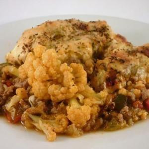 Receta de Ternera con arroz y coliflor