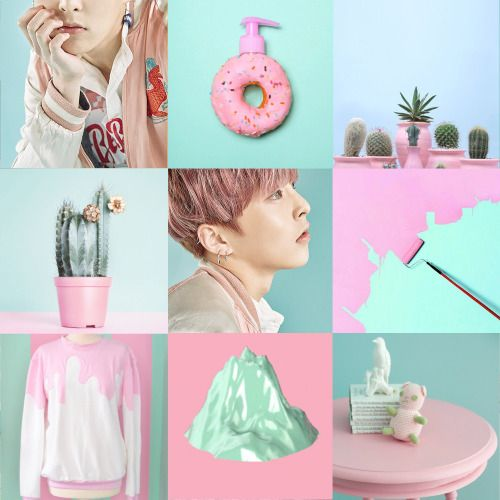 EXO Xiumin Lucky one treaser photo PASTEL aesthetic
