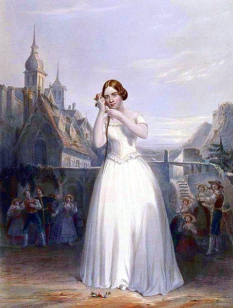 Jenny Lind in La Sonnambula