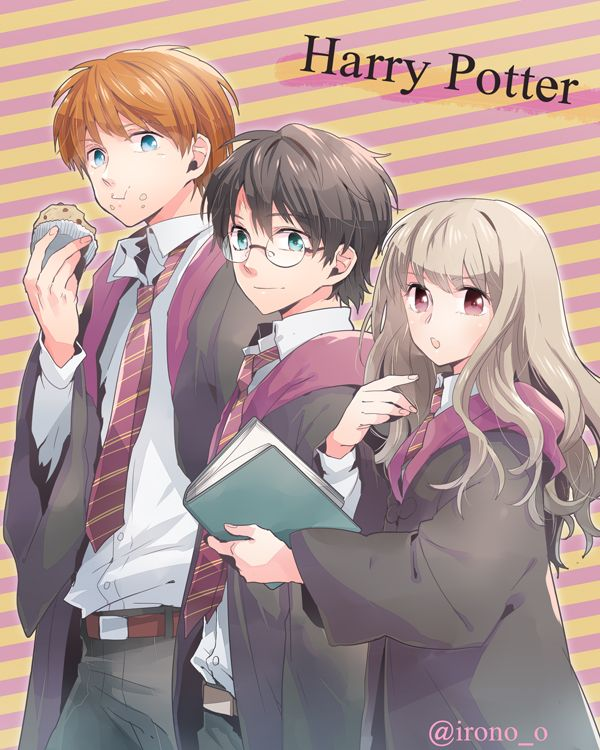 Harry Potter anime Version on zerochan.net
