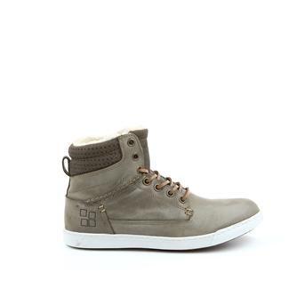 Coole Ossom Hoge sneakers (Groen) Hoge sneakers van het merk Ossom voor Dames. Uitgevoerd in Groen in Leer.