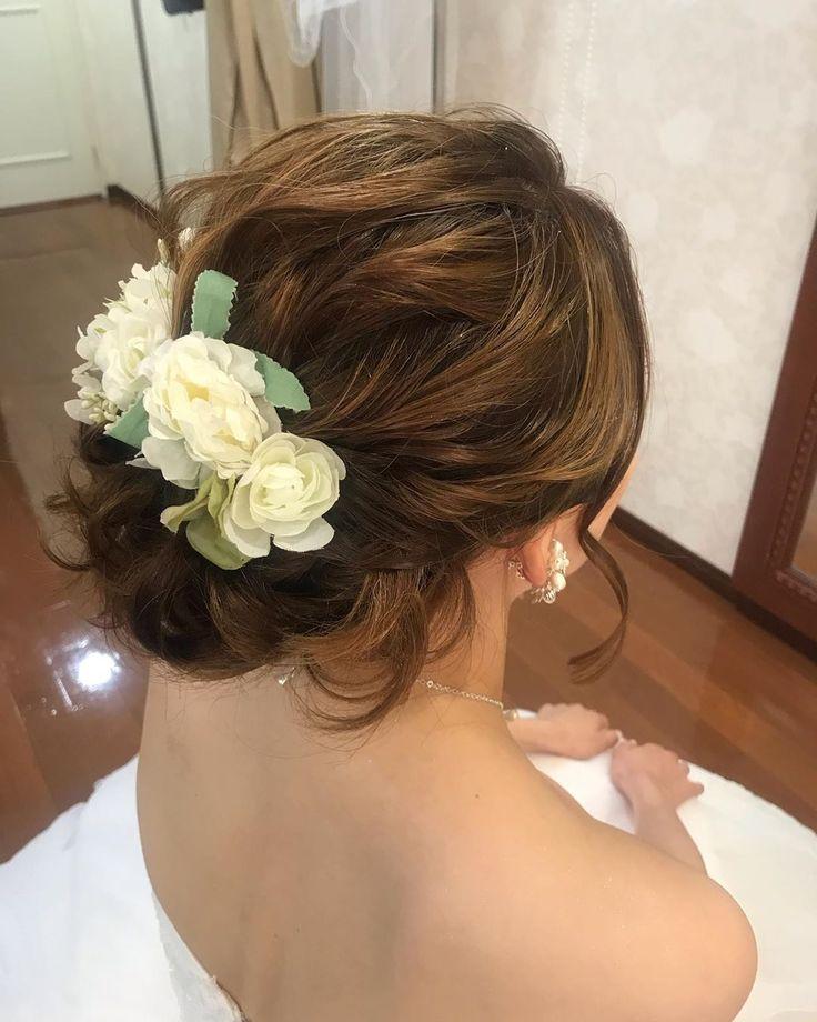 #ブライダル#ブライダルヘア#結婚式#wedding#ヘアメイク#ヘア…