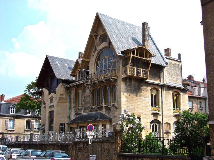 the villa majorelle 1901 1902 nancy france. Black Bedroom Furniture Sets. Home Design Ideas