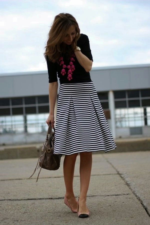Gorgeous Skirt Work Outfits For Office Women (20)