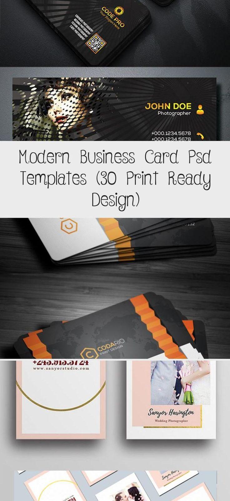 Minimal business card template businesscard