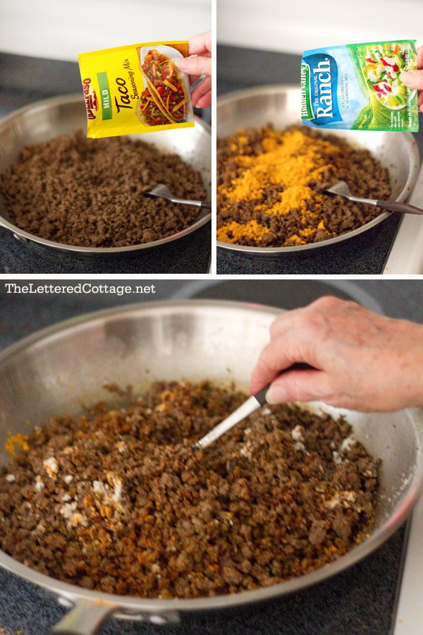 taco soup. YUM - have made this and is awesome - picky eaters & no leftovers - dinner tonight!