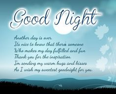 Good Night Messages (Cute Funny Romantic Love) Good Night Messages for Whatsapp (for Him/Her) Good night messages are used to wish people a very good night.Good night messageisoften sent as a good night wishes.So are you looking forbest good night messages? Here I have shared a huge collection ofGood Night Messages for her him friends boyfriend girlfriend. Also there are manycute funny romantic good night messages are shared. Do check good night sms for whatsapp andsend them to your loved…