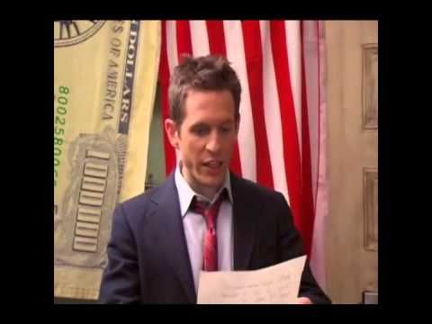 Dennis reads speech written by Charlie (Always Sunny)