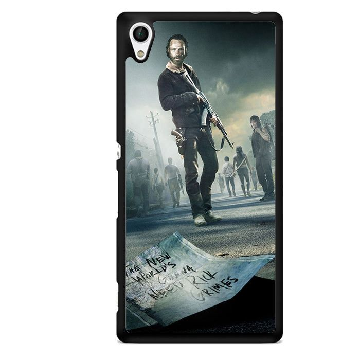 The Walking Dead Rick TATUM-11101 Sony Phonecase Cover For Xperia Z1, Xperia Z2, Xperia Z3, Xperia Z4, Xperia Z5