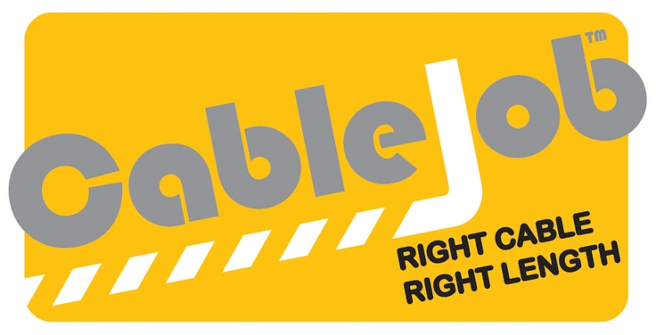 CableJob Logo. www.tonyjohnsoncreativedesign.co.uk (please visit and hit 'like' below me on the chair!)