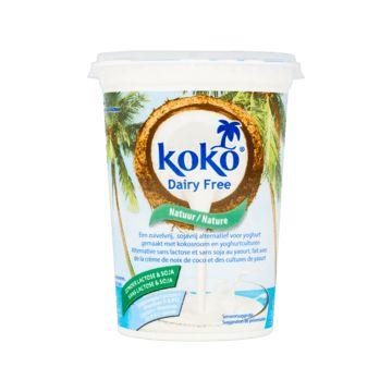 Koko 'yoghurt' Dairy Free Natuur #vegan