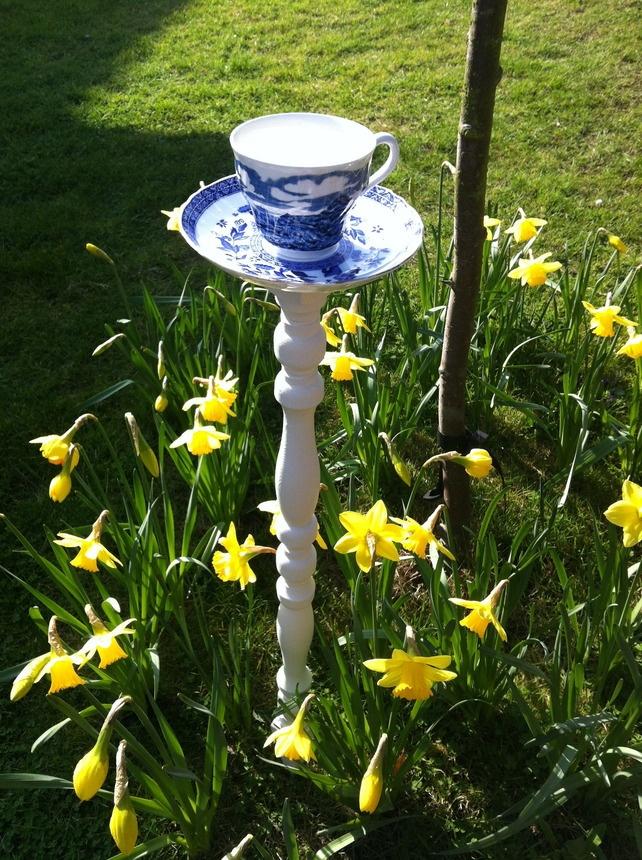 Bespoke Bird Feeder- Vintage China Teacup &... - Folksy