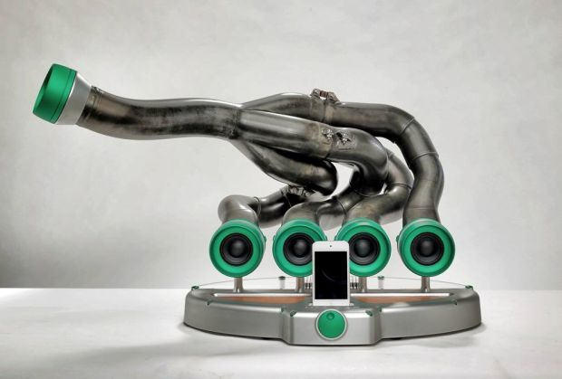 Read Old Formula 1 Exhausts Are Being Turned Into Speakers And They're Beautiful