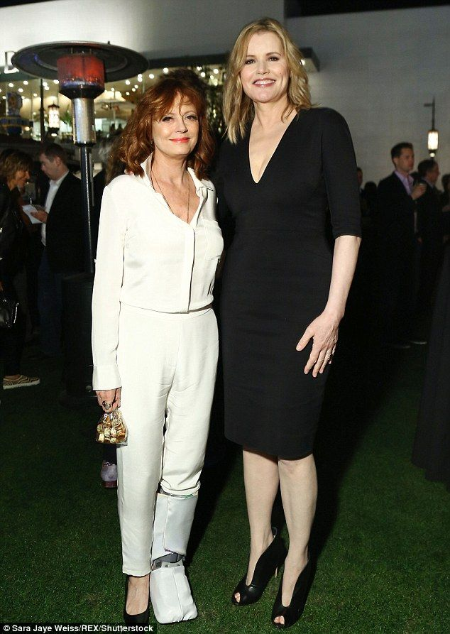 Reunited! Susan Sarandon was supported by her long-time friend and Thelma & Louise co-star...