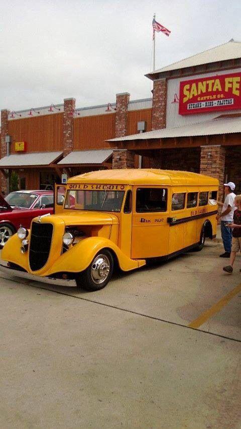 Cool school bus