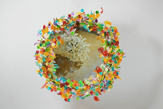 Round  Wall  decorative Mirror with Led light by yehudalight ~ I so very much want this Yehuda!