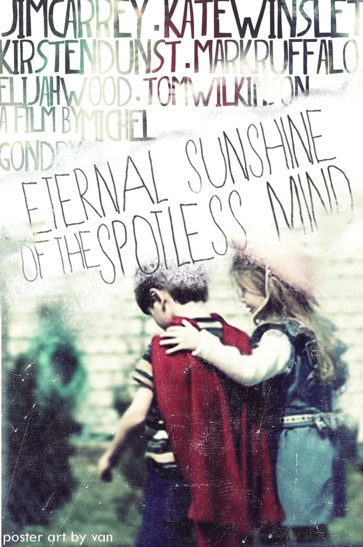 Eternal Sunshine of a Spotless Mind (2004) Director - Michel Gondry Jim Carrey, Kate Winslet, Elijah Wood, Tom Wilkinson, Kirsten Dunst, Mark Ruffalo
