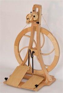 Spinning Wheel By Acadia Loom