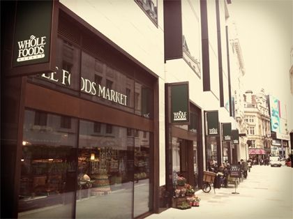 Yes there is a whole foods in Piccadilly and their croissants are amazing! Piccadilly Circus | Whole Foods Market