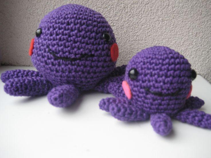 Amigurumi Patroon Octopus : 17 beste afbeeldingen over haken op Pinterest - Gratis ...